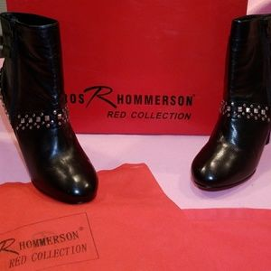 Ros Hommerson (New) Nappa Leather Ankle Boots